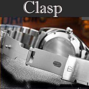 Image 4 - Hot Verkoop 2020New Tevise Quartz Heren Horloge Automatische Datum Fashion Luxe Sport Horloges Rvs Klok Relogio Masculino