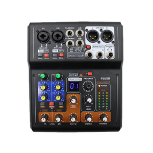 Image 2 - LEORY Mini 6 Channels Audio DJ Karaoke Sound Mixer Mixing Console With High Quality DSP Effect 16 Types For PC Audio KTV Meeting