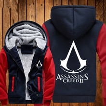 2016 Autumn Anime Assasins Creed 3D printed hoodie Assassins Creed Cosplay Coat Men White Cosplay Sweatshirt Costume 121802