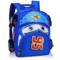 2016 Hot Sale fashion Children School Bags Cartoon Car Backpack Baby Toddler kids Book Bag Kindergarten Boy Backpacking B156