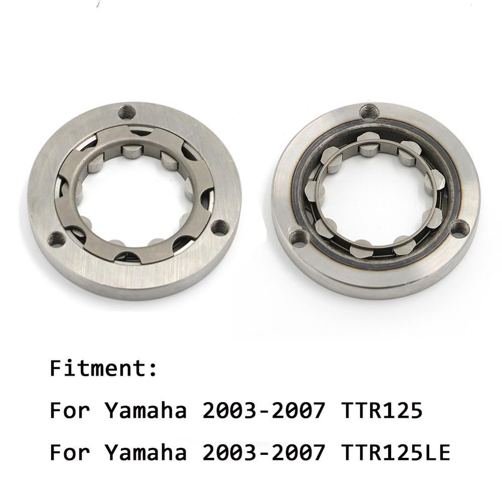 Accessoires plaque d'assemblage d'embrayage de démarreur de moteur pour Yamaha TTR125 TT-R TTR 125 LE TTR-125 2003-2007 remplacer 4TU-15590-00-00