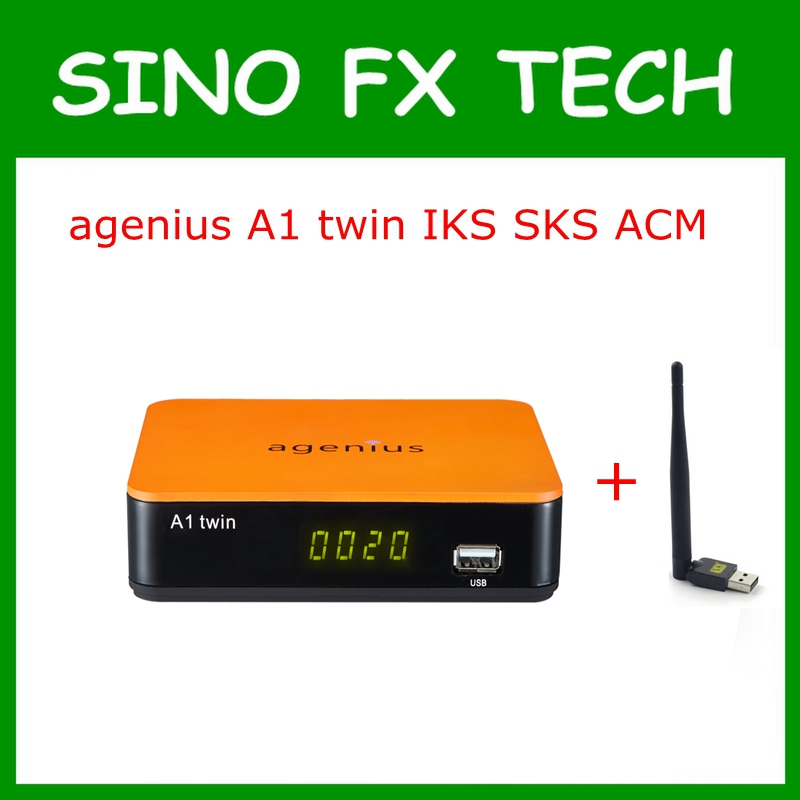 agenius A1 twin IKS SKS ACM support NEWCAM CCCAM Vod H.265 for South America Nagra 3 Brazil Chile pk tocomfree S929 ACM цена