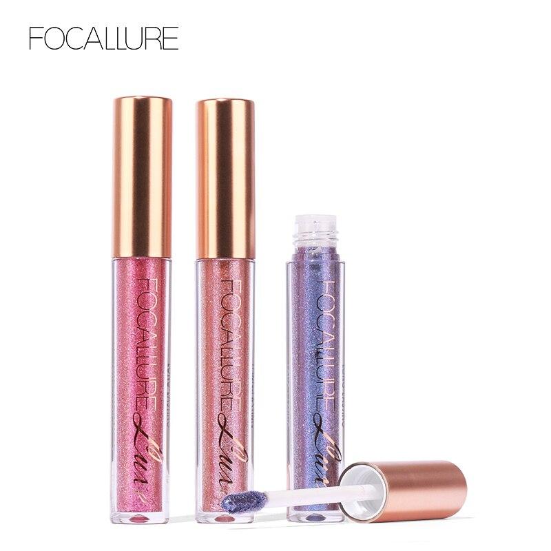 Chameleon FOCALLURE 10 Colori Liquido Rossetto Opaco Cosmetici Trucco Liquido LipsticksLip Gloss Stick trucco Labbra Lipgloss
