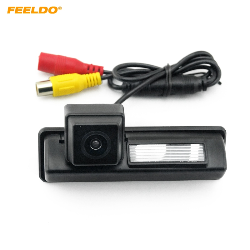 FEELDO 1PC Car Rearview сақтық көшірмесі Су өткізбейтін тұраққа арналған камера Toyota Camry XV40 үшін (2007-2011) # FD-4004