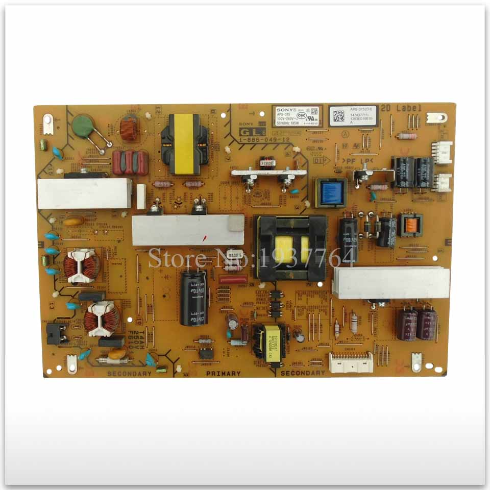 95% new original for board KDL-46HX750 Power Board APS-315 1-886-049-12 Tested Working pcm 3866 isa1 rev a1 03 1 pn1906386623 power board fittings of a machine tested well original