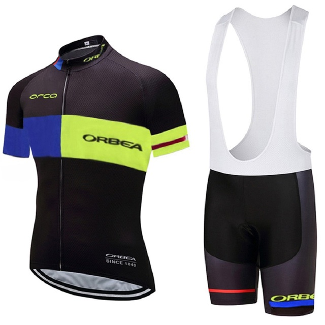 2017 new multicolor cycling jersey ORBEA mountain bike men s cycling suit  MTB Maillot Culotte b1b3b9c7d