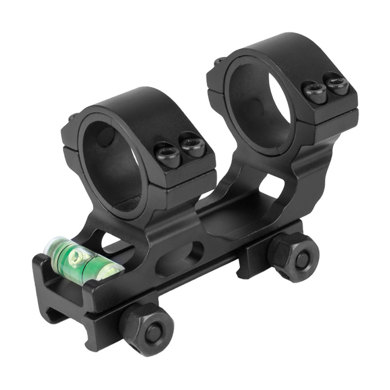 WESTHUNTER Lightweight Weaver Tactical Scope Mounts 25.4/30mm Compact One Piece Aluminum Picatinny Scope Rings With Bubble Level