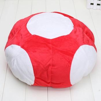 12 ''супер гриб Марио Плюшевая Игрушка Аниме шапка для косплея Мягкие плюшевые игрушки >> Amelie