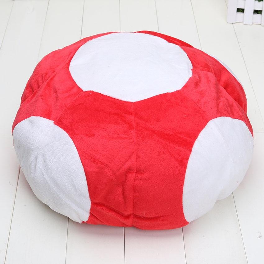 12 Super Mario Mushroom Plush Toy Anime Cosplay Hat Stuffed