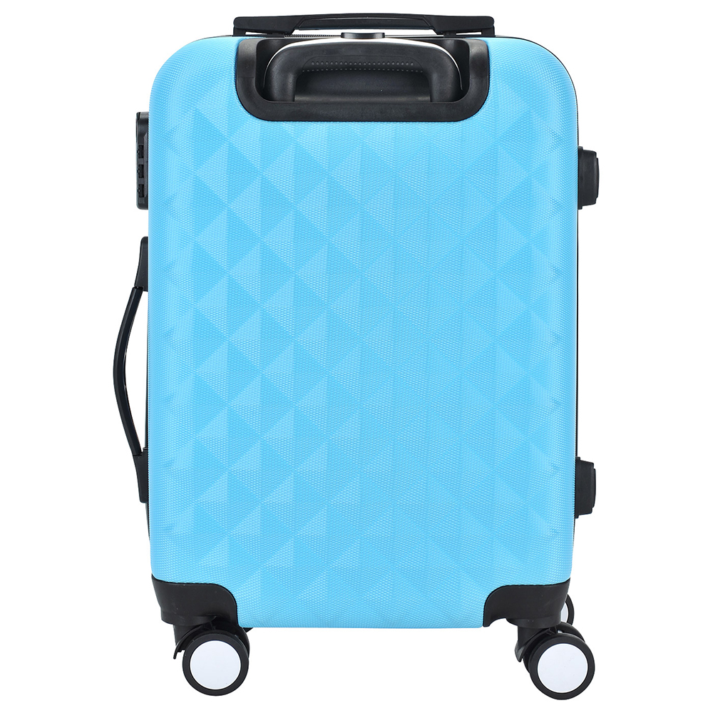 Suitcase PROFFI TRAVEL PH8645blue plastic blue with built-in weights M 2pcs travel bags replacement luggage suitcase wheels left