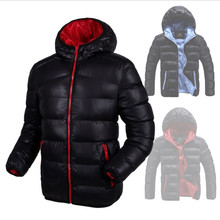 Male Warm Duck Down Coat Hooded Jacket Jaqueta Masculina Chaqueta Hombre Hot Sale Brand Down Jacket Men Winter Down Jackets