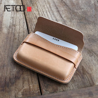 aetoo-original-handmade-business-card-package-tanned-leather-leather-card-bag-three-dimensional-modeling-business-card-clip-box