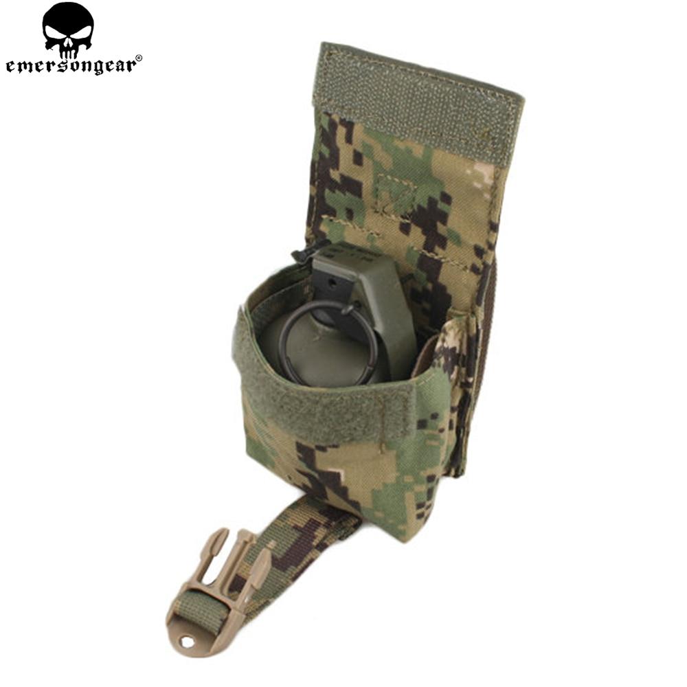 EMERSONGEAR LBT Style Unique Frag Grenad Poche Militaire Airsoft Paintball Gear Combat Molle Grenad Poche EM6369