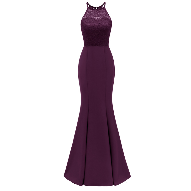 noble elegant   evening     dress   lace Hollow out   evening     dresses   long Big yards Party   Dress   Female Slim mermaid   evening   gown