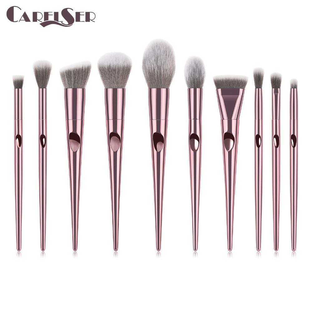 Luxury profession Makeup Brushes Set For Foundation Powder Blush Eyeshadow Concealer Lip Eye Make Up Brush Cosmetics Beauty Tool-in Eye Shadow Applicator from Beauty & Health
