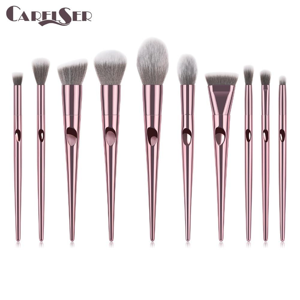 Luxury profession Makeup Brushes Set For Foundation Powder Blush Eyeshadow Concealer Lip Eye Make Up Brush Cosmetics Beauty Tool