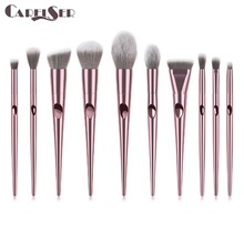 Luxury profession Makeup Brushes Set For Foundation Powder Blush Eyeshadow Concealer Lip Eye Make Up Brush Cosmetics Beauty Tool pro fan brush 7pcs bamboo handle makeup eyeshadow blush concealer brushes set powder foundation facial multifunction beauty tool