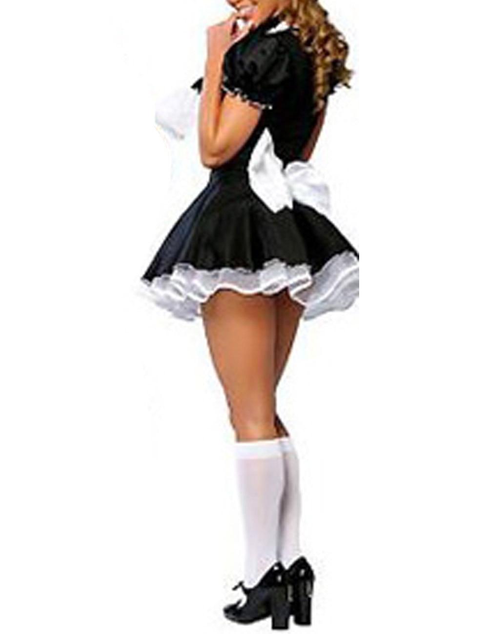 Womens sexy seductive french maid costume