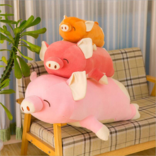 купить New Style Cute Fat Pig Plush Toys Stuffed Animal Pig Doll Toy Plush Pillow Children Gift Girls Birthday Gifts по цене 1040.15 рублей