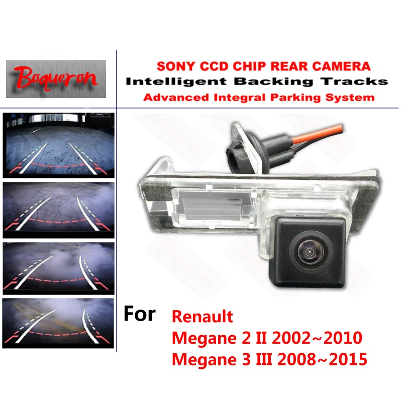 for Renault Megane 2 II 02 10 3 III 08 15 CCD Car Backup Parking Camera