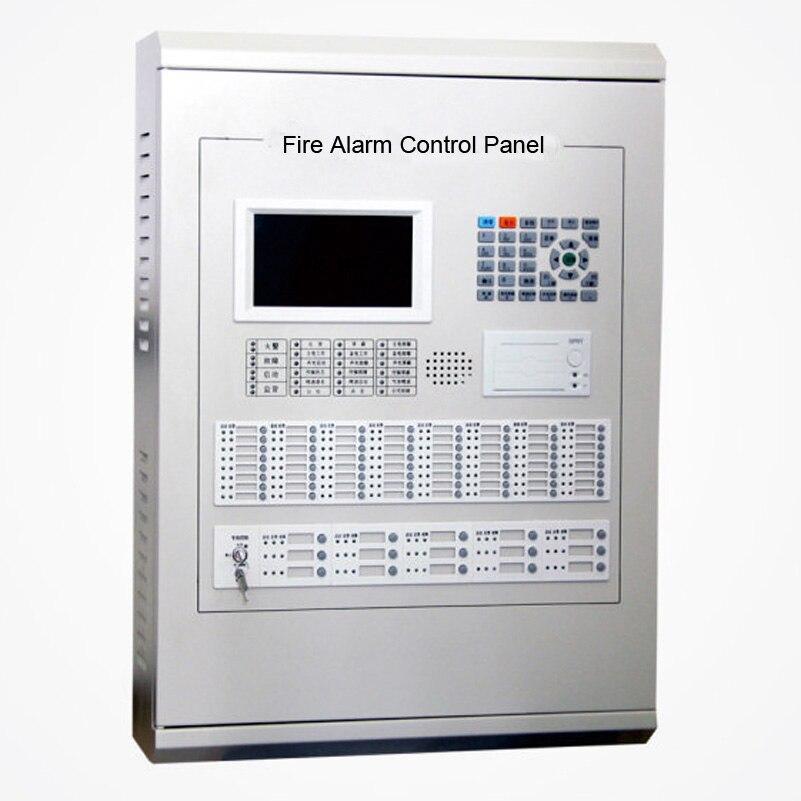 Адресная пожарная сигнализация панель управления 4 петли для 1020 адресуемых точек 2 шины связь типа facp