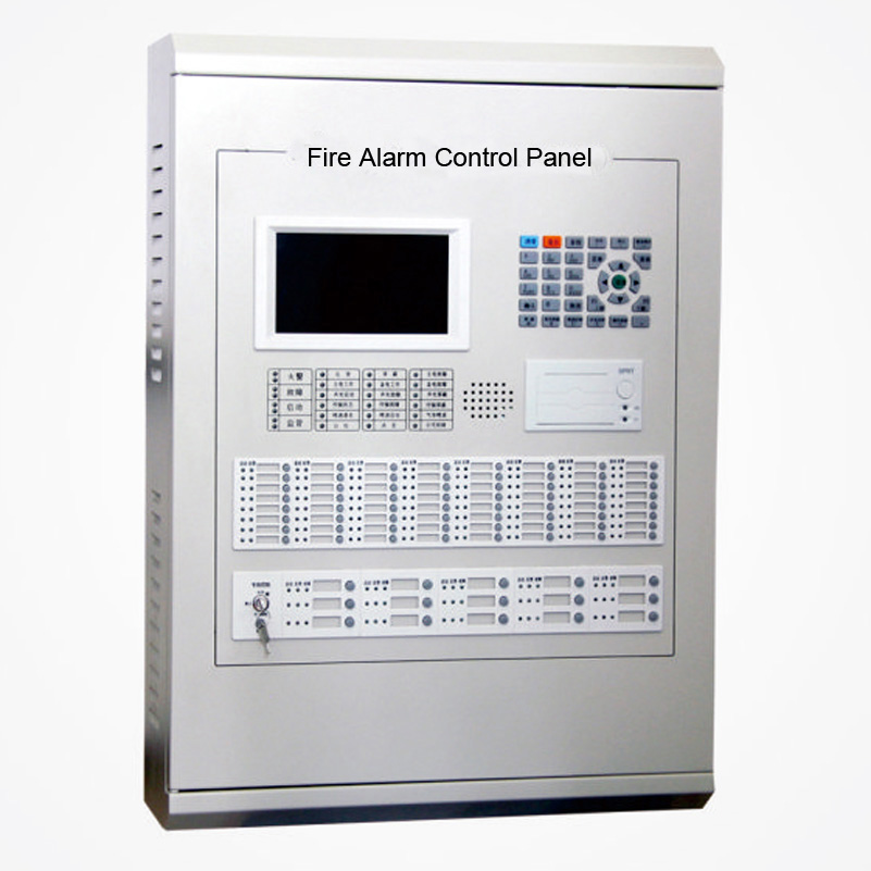 Addressable Fire Alarm Control Panel 4 Loops For 1020
