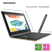For Lenovo Yoga Book 10 1 Inch Tempered Glass Keyboard Glass Protective Full Screen Transparent 2