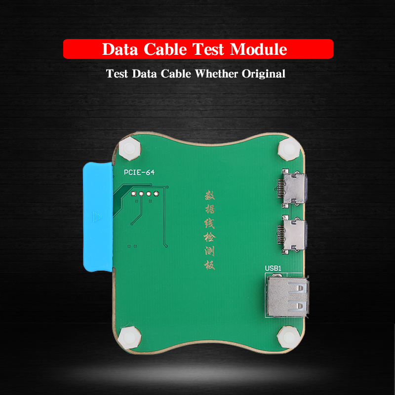 JC Pro 1000S Data Cable Testing Board Original Data Cable Identifing Tool for iPhone iPad Charge Cable Tester