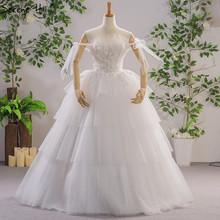SERENE HILL 2019 White Sexy Wedding Dresses Gown