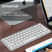 MAORONG TRADING Ultra-thin Bluetooth wireless and wired keyboard for Andriod/windows/ios For Mac 21.5 27 inch magic keyboard