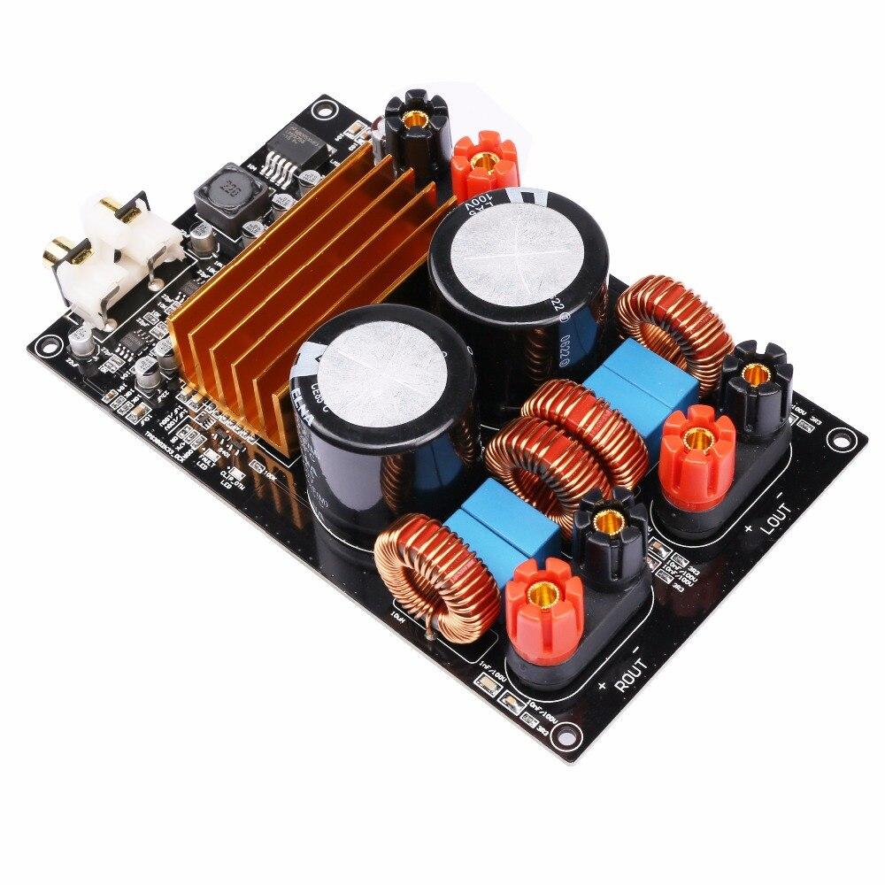 K.GUSS Class D TPA3255 MINI HIFI AUDIO Digital Amplifier Board 300W + 300W DC50V class d tpa3255 mini hifi audio digital amplifier board 300w 300w dc50v