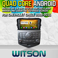 WITSON S160 Quad-Core Android 4.4 Dvd-плеер АВТОМОБИЛЯ для CHEVROLET CRUZE Capctive Экран GPS Navi Стерео Bluetooth зеркало ссылка