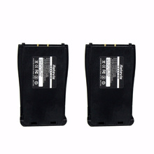 2pcs Original Retevis H-777 Li-ion Battery 1500mAh DC 3.7V Battery For Baofeng Bf-888s 888s Walkie Talkie Accessories C9033A