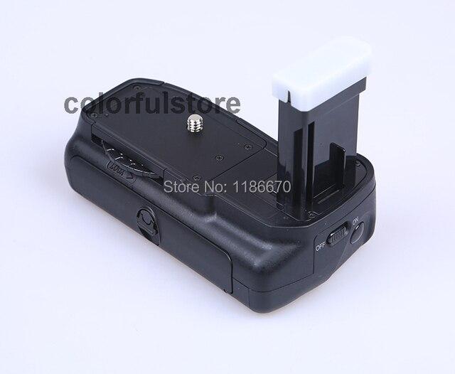 FREE SHIP Battery Hand Grip Holder Pack 2 Step Vertical Shutter For Nikon D5200 D5100 D5300 Digital Camera as MB D51 fit EN EL14