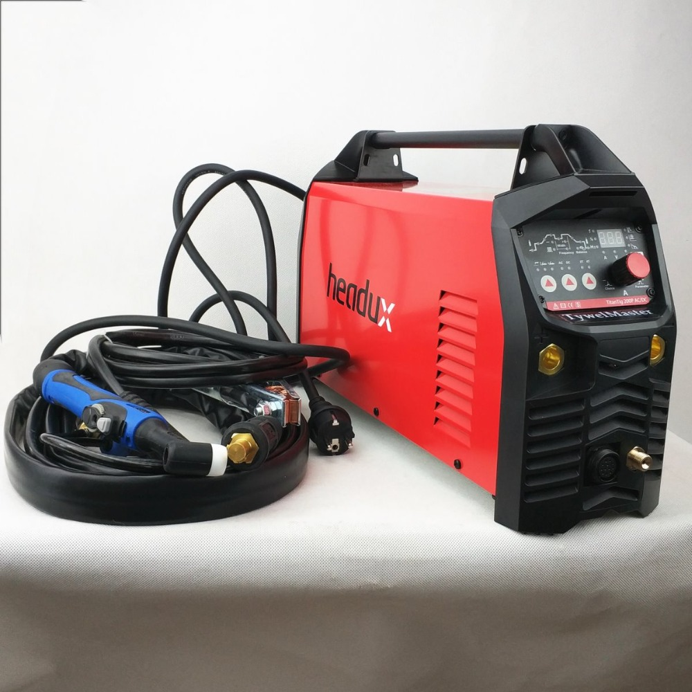 Aluminium Welder ACDC TIG Welding Machine 200A Digital Pulse TIG/MMA CE Approved Professional AC/DC Pulse TIG Welding Machine professional 200a digital ac dc pulse tig welding machine ac dc pulse tig mma ce approved igbt inverter tig aluminum welding
