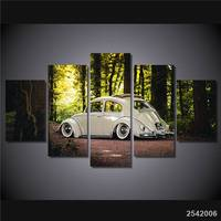Hd Printed 5pcs Car Painting Room Decor Canvas Art Wall Art Free Shipping Ny 4343 Christmas