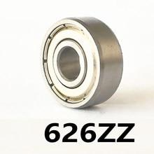 2 шт./лот 626ZZ миниатюрные шариковые Мини-подшипники с глубоким желобом 626ZZ 626-ZZ 6*19*6 мм 6*19*6