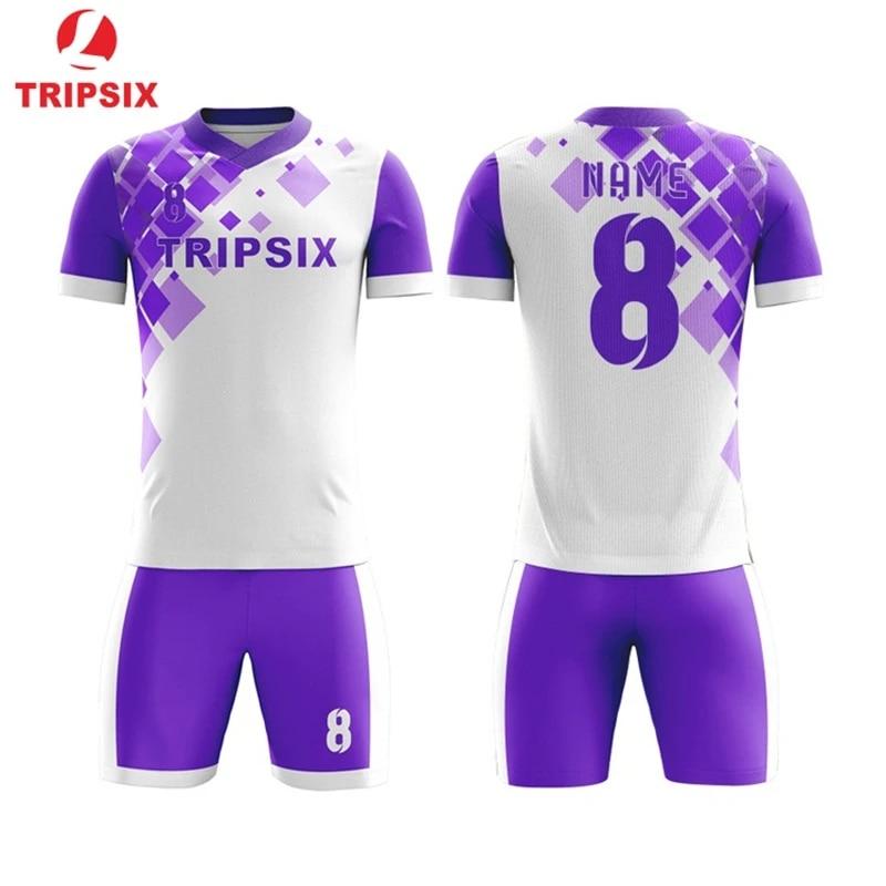 Buy Soccer Shirts Online Uniformes De Soccer Sports Jersey Online China Oem Manufacturer Design Your Own 100% Polyester Jersey