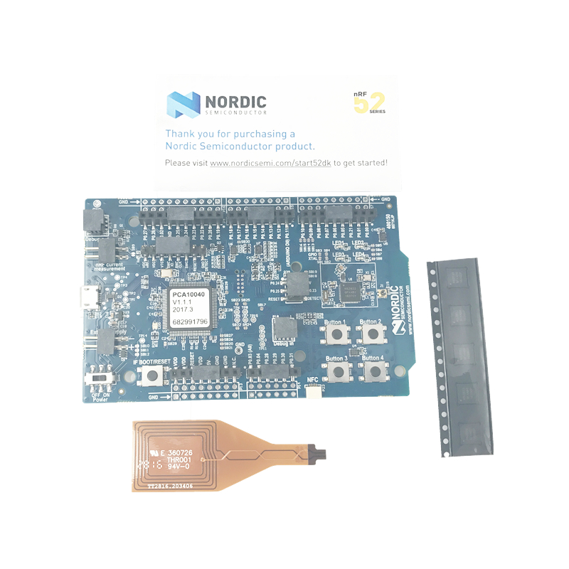 все цены на NRF52-DK Nordic Bluetooth development board Kit nRF52832 SoC pca10040 онлайн