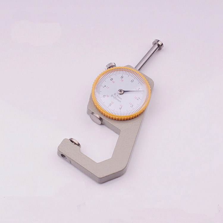 Leathercraft Tool 0-20mm Thickness Gauge Tester Craft Handmade Leather Tools high qty