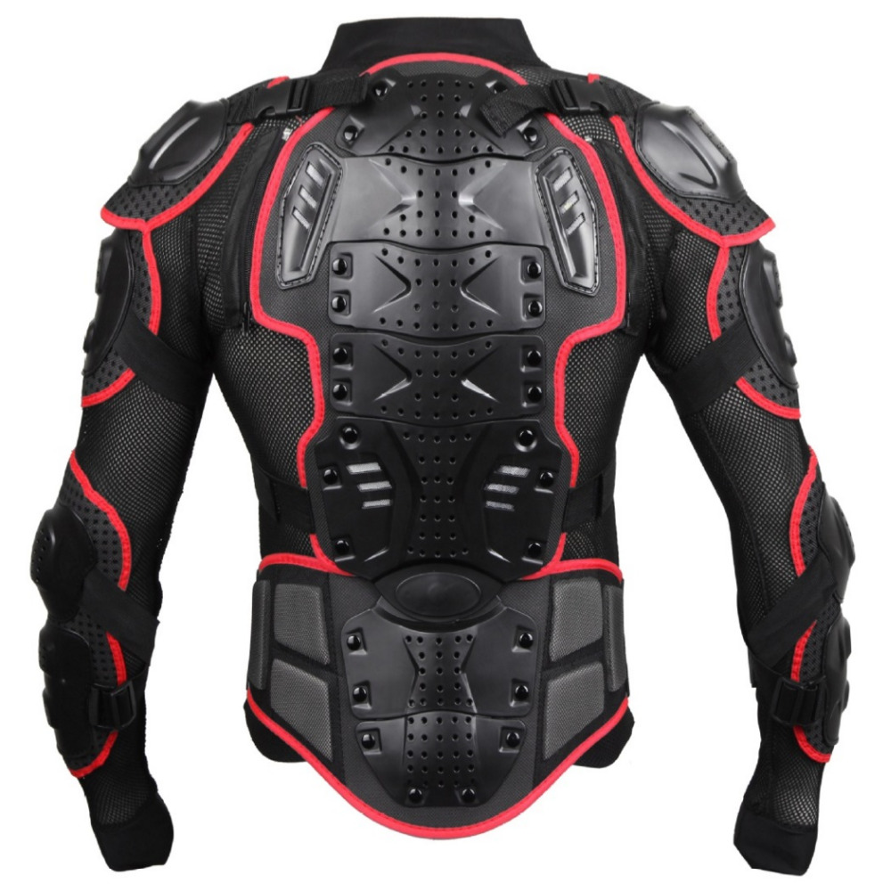 цена на Motorcycle Protection Jacket Professional Motocross Full Body Armor Jacket Spine Chest Protective Gear Motocross Racing Jackets