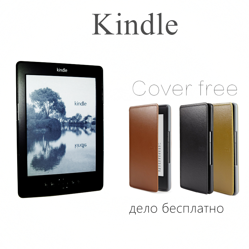 ФОТО Kindle 5 eink screen 6 inch ebook reader e book,electronic,have  kobo in shop ,e book,e ink,reader 2GB free shipping