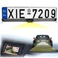 3 em 1 câmeras da placa de Licença Do Carro Assistência de Estacionamento Câmera Câmera de Visão Traseira de Backup com 2 Sensores de Estacionamento Mostrar Imagem & distância