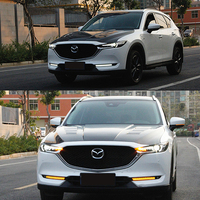 JY 2x LED Daytime Running DRL White Lights Lamps Car Accessories For MAZDA CX 5 2017