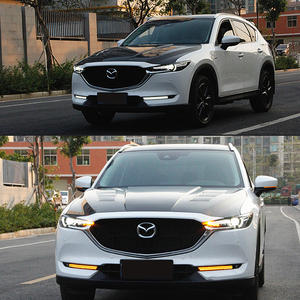 JY 2x LED Daytime Running DRL White Lights Lamps Car Accessories For MAZDA CX-5 2017 2018