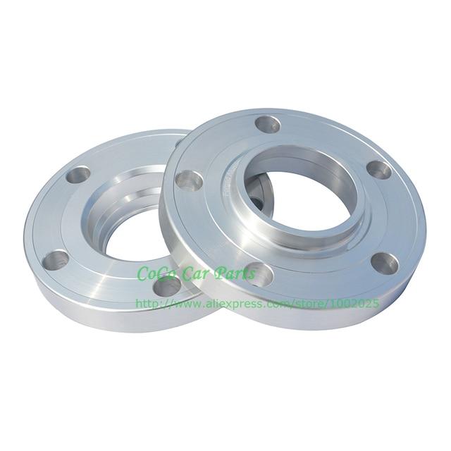 2pcs 10mm 15mm 20mm pcd 5x112 66.6mm 타이어 메르세데스 벤츠에 대 한 플랜지 자동차 휠 허브 스페이서를 확대