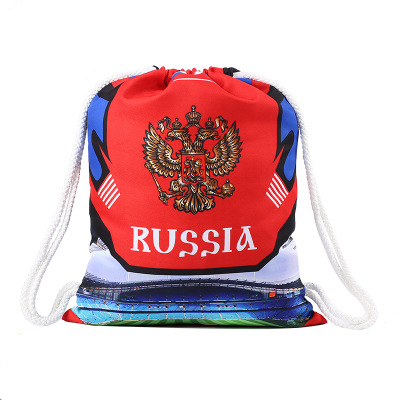 World Cup 2018 Soccer souvenir Russia 26 countries High Quality Gabardine Bags Football women & man sports bags for fitness gym