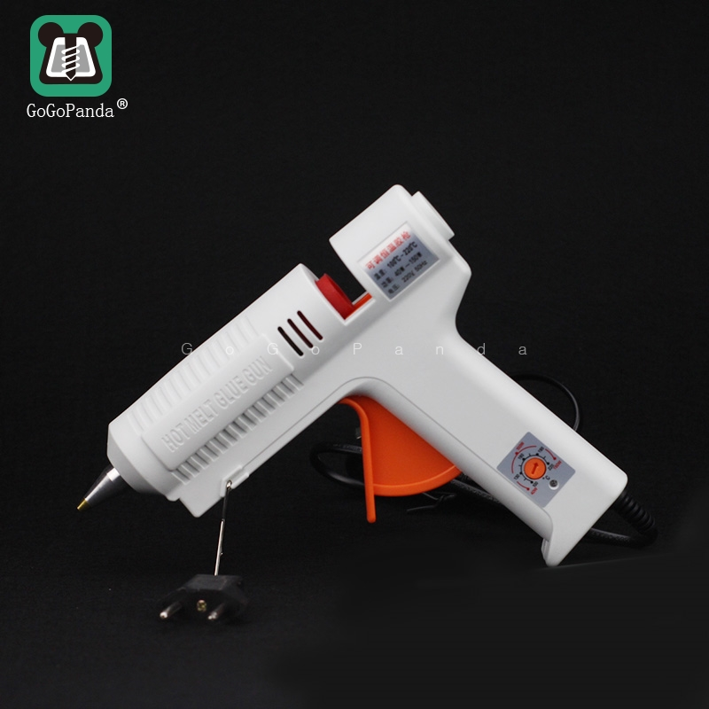 Free Shipping 220v 40-150w Hot Melt Glue Gun Temperature Adjustable Repair Kit Tools