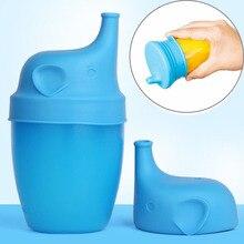1 шт. силиконовые непромокаемые герметичные крышки для детских чашек Детские тренировочные стаканчики для питья Детские принадлежности для питья