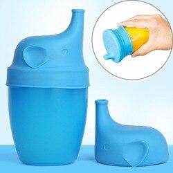 1 pc silicone sippy tampas à prova de vazamento à prova dleaágua capa de copo do bebê formação copo de vidro bebendo crianças ferramenta acessórios